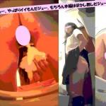 《期間限定》女子トイレ盗撮(230)正副を出してみるジェーやっぱりイイもんだジェー超広角便器内全5名うんちも2名
