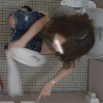 【某有名大学女性洗面所】有名大学女性洗面所 vol.50 個室には3つの「目」があるみたいです。