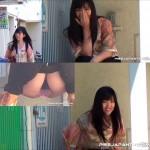 ☆お姉さん達のトイレマナー☆43 カメラ見つけてびっくりポン&追っかけ撮り8人