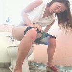 海の洋式トイレを撮ってみた!35大ボリュームかわいい子ハプニング多め鮮明丸見え