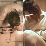 【必見】持参ビデでおマ●コ洗浄する美女 全4名 【複眼洗面所盗撮】
