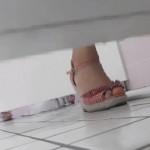 【【限定配信】マ○コ丸見え!!第三体育館潜入撮】▲復活限定D▲第三体育館潜入撮File016 執念!前後上下全部撮れた