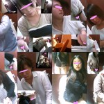 女子トイレ盗撮(122)美女揃い全21名正面アップ外撮り9名!個室内2カメ11名