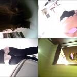 女子トイレ盗撮(249)ドアップは立てばアソコで座れば全身室内息づかい正面ドアップ14名含む全17名