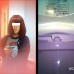 そふといちば nozoki-com.com toilet48 洋式トイレ便器内前方アングル&上半身の2カメ盗撮①